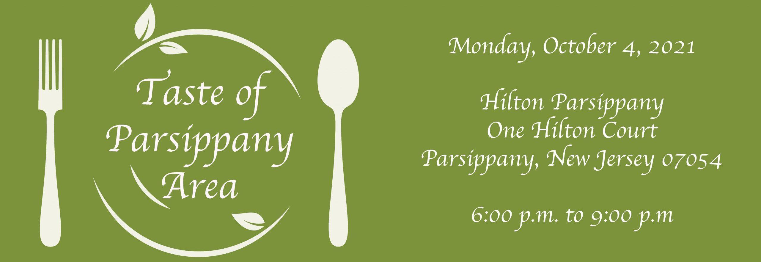 Taste of Parsippany Area 2021